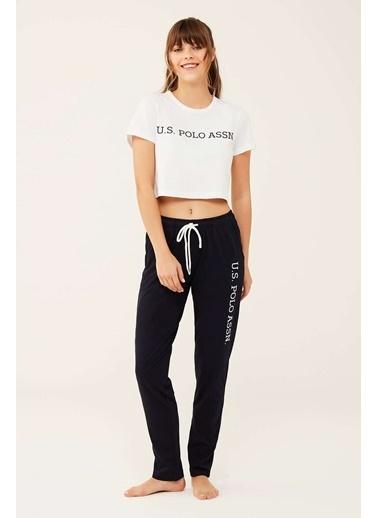 U.S. Polo Assn. Kadın Lacivert Pijama Altı Lacivert